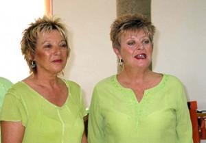 Founder members of Spangles Chorus